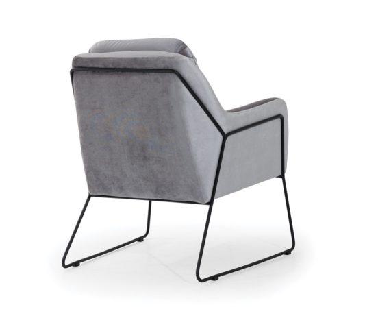 Кресло Tommy на металлическом каркасе фото 1
