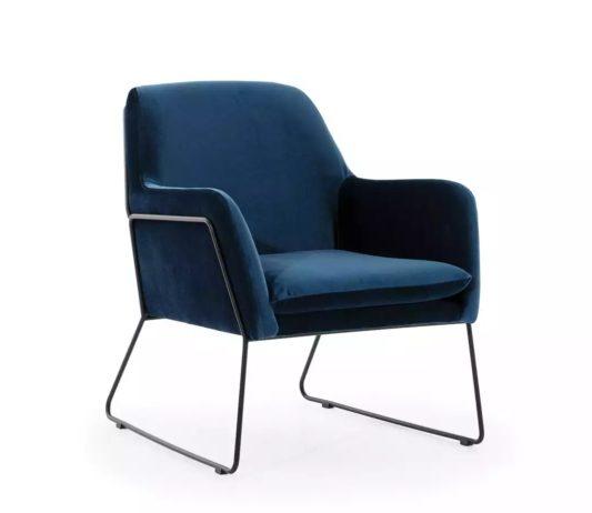 Кресло Tommy на металлическом каркасе фото 2