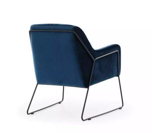 Кресло Tommy на металлическом каркасе фото 3
