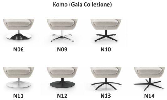 Кресло Komo фото 5