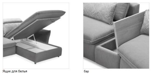 Модульный диван Merida фото 10