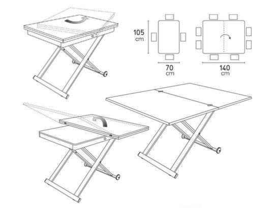 Раскладной стол Mascotte фото 10