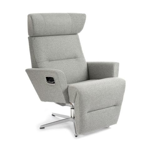 Кресло Relieve вращающееся с опорой для ног