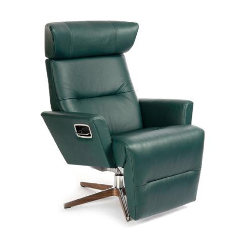 Кресло Relieve вращающееся с опорой для ног фото 1