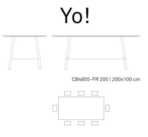 Обеденный стол Yo! фото 7