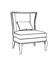 Кресло art.8021 фото 5
