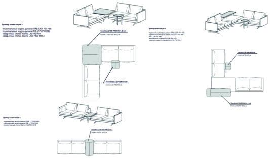 Модульный диван Copenaghen фото 7