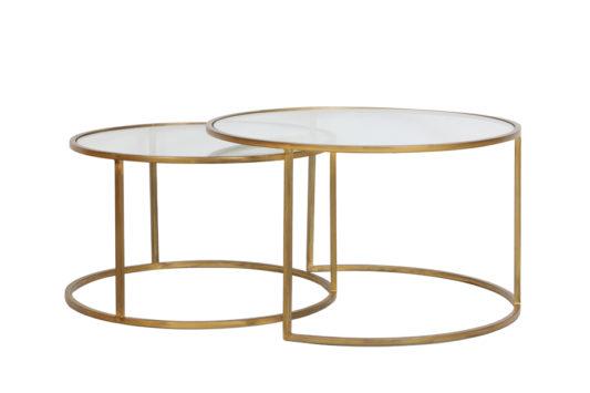 Журнальный столик Duarte 75*75*45 см