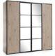 Шкаф 4-дверный Glassloft