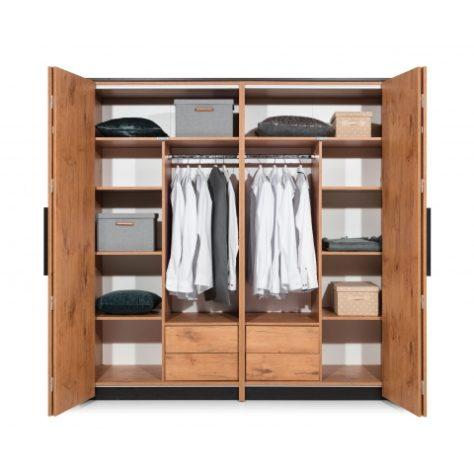 Шкаф 4-дверный с зеркалом Loft фото 1