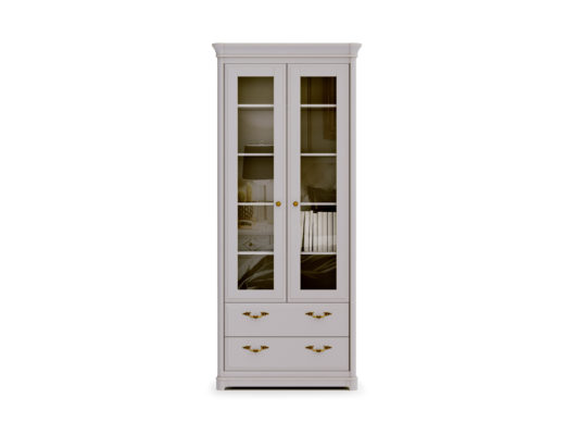 Книжный шкаф 2-дверный Riviera