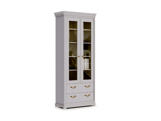 Книжный шкаф 2-дверный Riviera фото 3