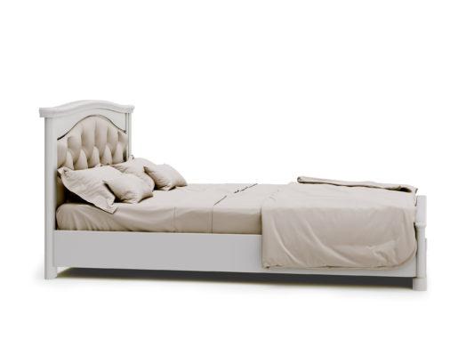Кровать Riviera с мягким изголовьем 90*200 фото 1