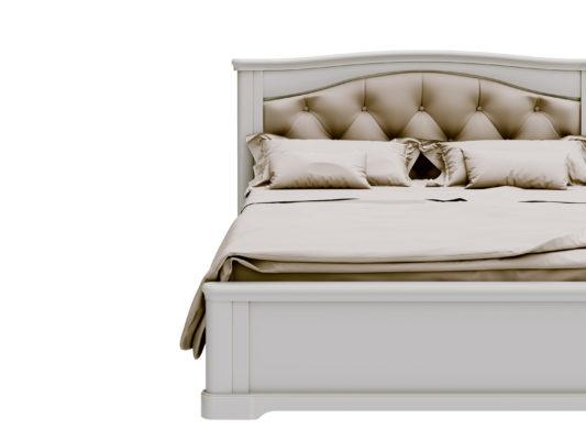 Кровать Riviera  с мягким изголовьем фото 1