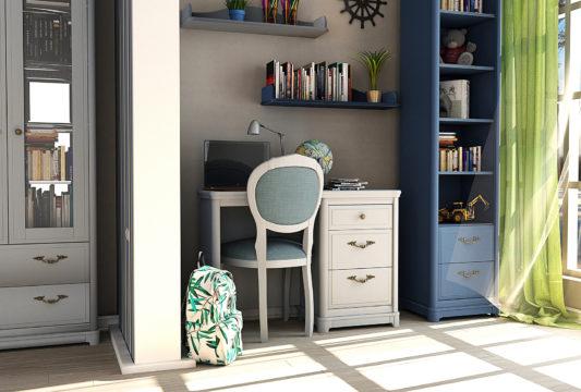 Книжный шкаф 2-дверный Riviera фото 4