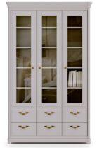 Книжный шкаф 3-дверный Riviera