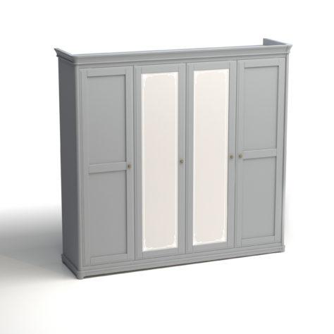 Шкаф 4-дверный Riviera фото 6