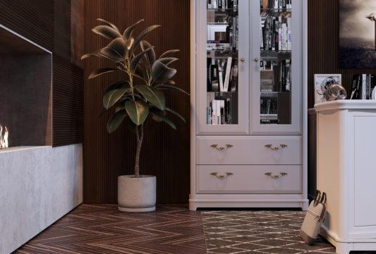 Витрина 2-дверная Riviera фото 11