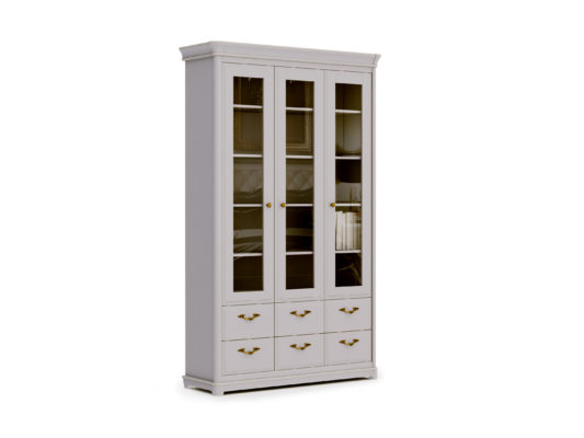 Книжный шкаф 3-дверный Riviera фото 1