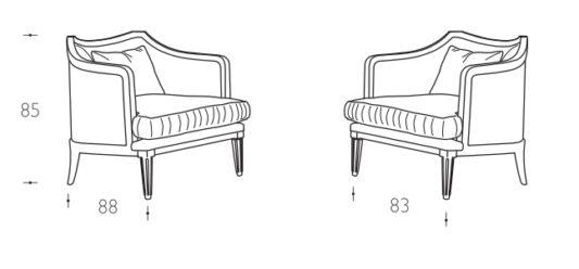 Кресло Gaia фото 11