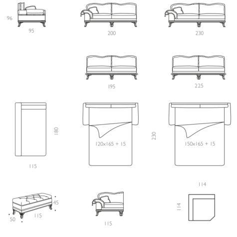 Модульный диван Sofia фото 5