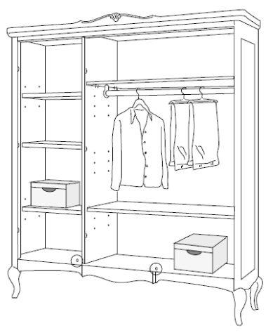 Шкаф 3-дверный 2217 фото 4