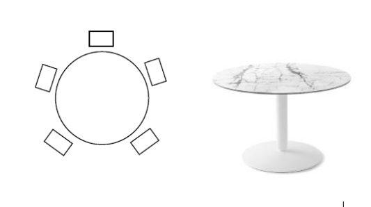Круглый стол Balance фото 9