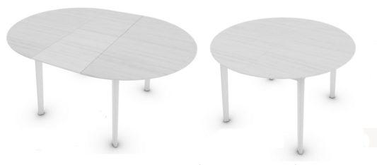 Раздвижной стол Cream Table CS4063-D 120 фото 2