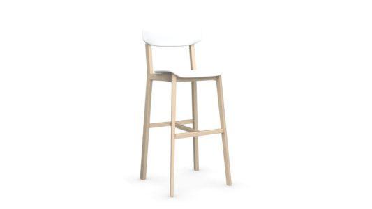 Полубарный стул Cream фото 3