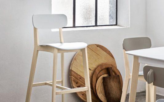 Полубарный стул Cream фото 6