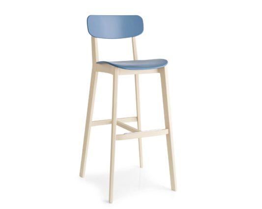 Полубарный стул Cream фото 1