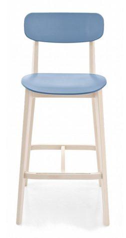 Полубарный стул Cream
