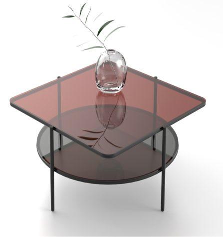 Журнальный столик Puro 65*65*38 фото 2